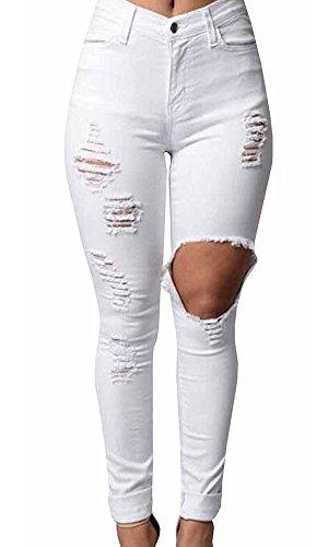 Pxmoda Womens Skinny Stretch Distressed product image