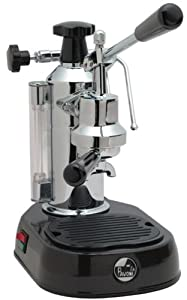 La Pavoni EPBB-8 Europiccola 8-Cup Lever Style Espresso Machine, Black Base from La Pavoni