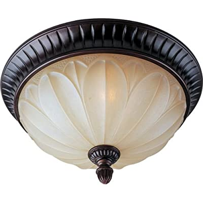 "Maxim 13500 2 Light 15"" Wide Flush Mount Ceiling Fixture from the Allentown Coll,"