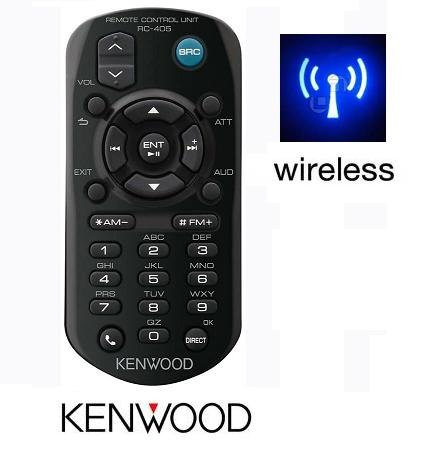 Kenwood RC-405 Wireless Remote IR audio units Control for Compatible Select Kenwood A70-2104-05 New Factory Original Receivers for Models numbers ---- kdc-148 , kdc-208 , kdc-208u , kdc-248 , kdc-248u , kdc-348u , kdc-448u , kdc-bt645u , kdc-bt648u , kdc-bt848u , kdc-bt945u , kdc-bt948hd , kdc-hd545u , kdc-hd548u , kdc-mp145 , kdc-mp145cr , kdc-mp148cr , kdc-mp148u , kdc-mp245 , kdc-mp245u , kdc-mp248 , kdc-mp248u , kdc-mp345 , kdc-mp345u , kdc-mp346u , kdc-mp445 , kdc-mp445u , kdc-mp5043 , kdc-mp5043u , kdc-mp745u , kdc-x395 , kdc-x494 , kdc-x595 , kdc-x695 , kdc-x794 , kdc-x895 , kdc-x994 , kdc-x995 , kiv-700 , kiv-701 , kiv-bt900 , kiv-bt901 and many more