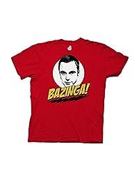 Ripple Junction Big Bang Theory Bazinga With Sheldon Adult T-Shirt