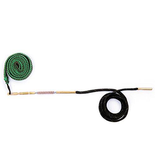 Gun Snake Bore Cleaner Brush Barrel Cleaning Kit for Shotgun Rifle Pistol (.22 Cal .223 Cal & 5.56mm)