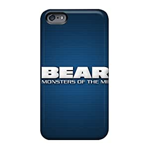WayneSnook Apple Iphone 6 Plus Protector Cell-phone Hard Cover Support Personal Customs Vivid Chicago Bears Skin [smD790ZzMf]