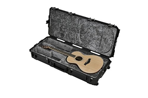 SKB Injection Molded Classical Guitar Case - TSA Latches, with wheels (3i-4217-30)