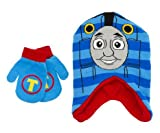 Thomas the Tank Engine Train Boys Hat with Mittens Set (Toddler/Little Kid)