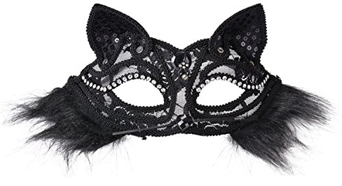 Sexy Masquerade Mask Black Headband