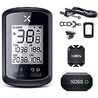 Velocímetro Ciclocomputador GPS para Bike Xoss Original G+ Completo Sensores Cadência, Cinta Cardíaca e Suporte Extensor