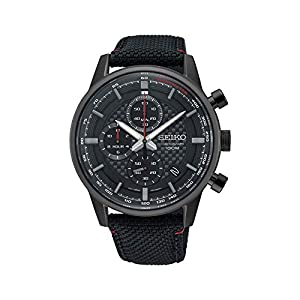Seiko Orologio Cronografo Quarzo Uomo con Cinturino in Nylon SSB315P1 6
