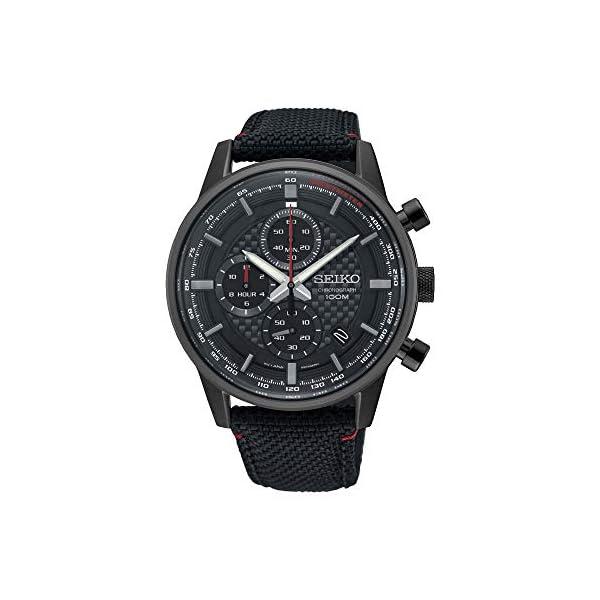 Seiko Orologio Cronografo Quarzo Uomo con Cinturino in Nylon SSB315P1 1