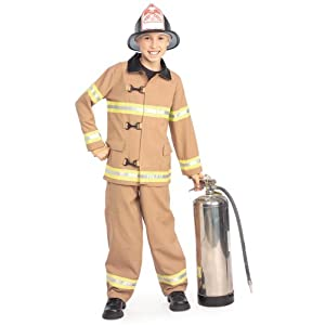 Young Heroes Child's Fire Fighter Costume - 41ZWFqJCo5L - Young Heroes Child's Fire Fighter Costume