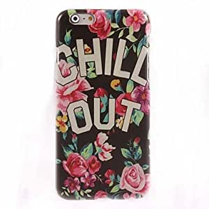 LZX CHILL OUT Design Hard Case for iPhone 6