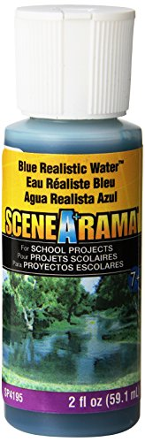 (Woodland Scenics Realistic Water 2 Ounces-Blue (SP4195))