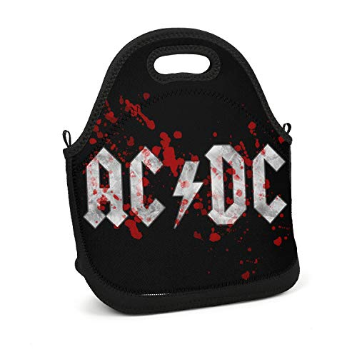 SEeRRroO Insulated Lunch Box Rock Music Group Print Portable Lunch Bag Reusable Carry Boxes Cooler Tote Bag for School Work Office Picnic Gym