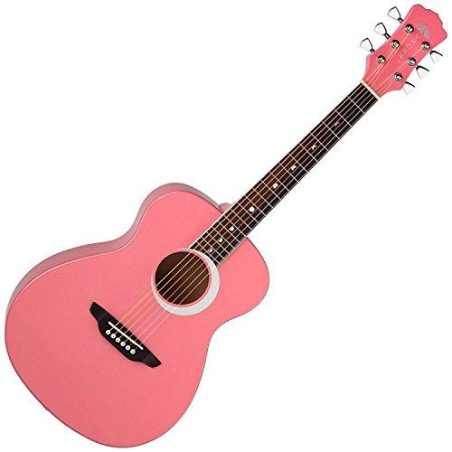luna-aurora-borealis-3-4-size-acoustic-guitar-pink-pearl