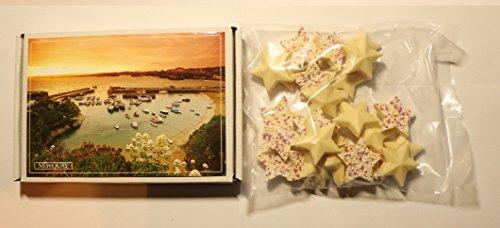 Ye Old Cornish Newquay White Chocolate Stars English Candy
