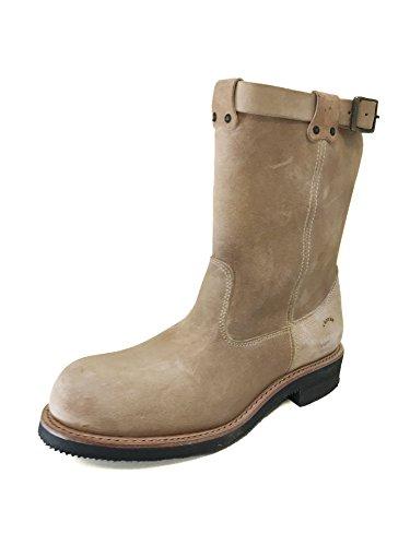 Sand 3224 Charro El Vintage Suede Boots 44 wP1nqABS