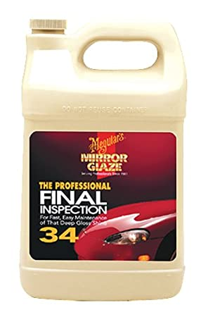 Meguiar's M34 Mirror Glaze Final Inspection – Professional Spray Detailer for Final Touch – M3401, 1 gal Meguiar's