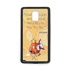 Magikarp When I Evolve Samsung Galaxy Note 4 Cell Phone Case Black toy pxf005_5825994
