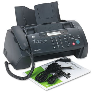 Hp 1040 Inkjet Fax Machine W/built-in Telephone Handset - Print Scan & Send Faxes! by HEWPRN