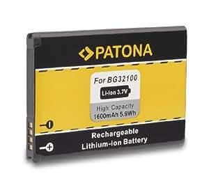 Batería BG32100 BG-32100 para HTC A9393 | Desire S | Desire Z | 7 Mozart | A7272 | C510e | Incredible S | Salsa | T8699 | Vision | S510e | S710e | S710d | S715E y mucho más… [ Li-ion; 1600mAh; 3.7V ]