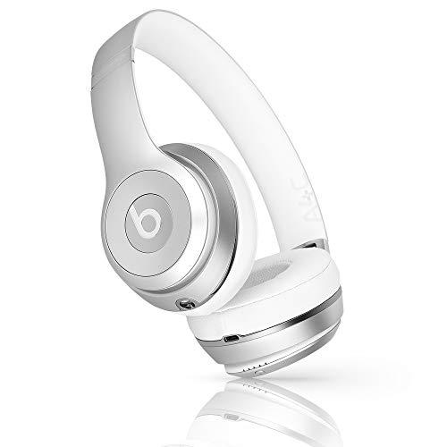Beats Solo3 Wireless On-Ear Headphones Matte Silver - Beats by Dr Dre (Renewed) (Dre By Wireless Dr Solo Beats)