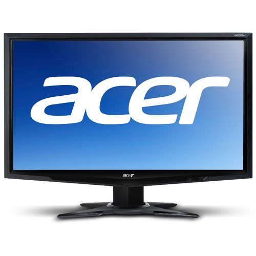 Acer Black Flat Panel Monitor - Acer G205HV bd 20-inch Widescreen Flat-Panel LCD Monitor
