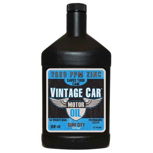 Surf City Garage 516 Vintage Car Motor Oil 10W40, Quart Bottle, 6/Case - Lot of 6