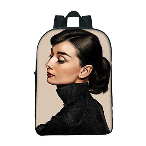 Mini School Bag Audrey Hepburn Backpacks For Children Men Womens Shoulder