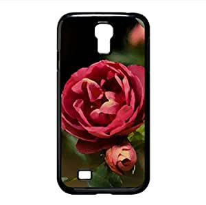 Roses Watercolor style Cover Samsung Galaxy S4 I9500 Case (Flowers Watercolor style Cover Samsung Galaxy S4 I9500 Case)