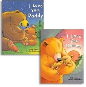 UPC 605349743283, I Love you Mommy/I Love you Daddy - 10¼ Inch Picture Books (2 Books)
