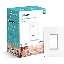 Kasa Smart Light Switch by TP-Link – Needs Neutral Wire, WiFi Light Switch, Works with Alexa & Google (HS200) (Renewed)