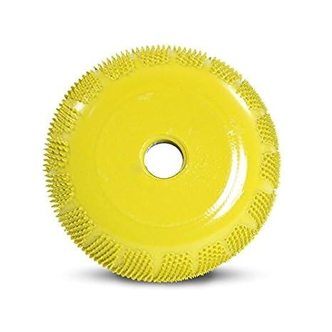 "Saburrtooth BZ23450 Saburr-Tooth BZ23450 2/"" Buzzout Wheel 3//4/"" Yellow"