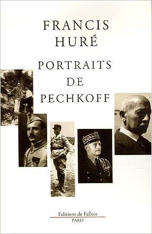 En ligne téléchargement Portraits de Pechkoff pdf, epub