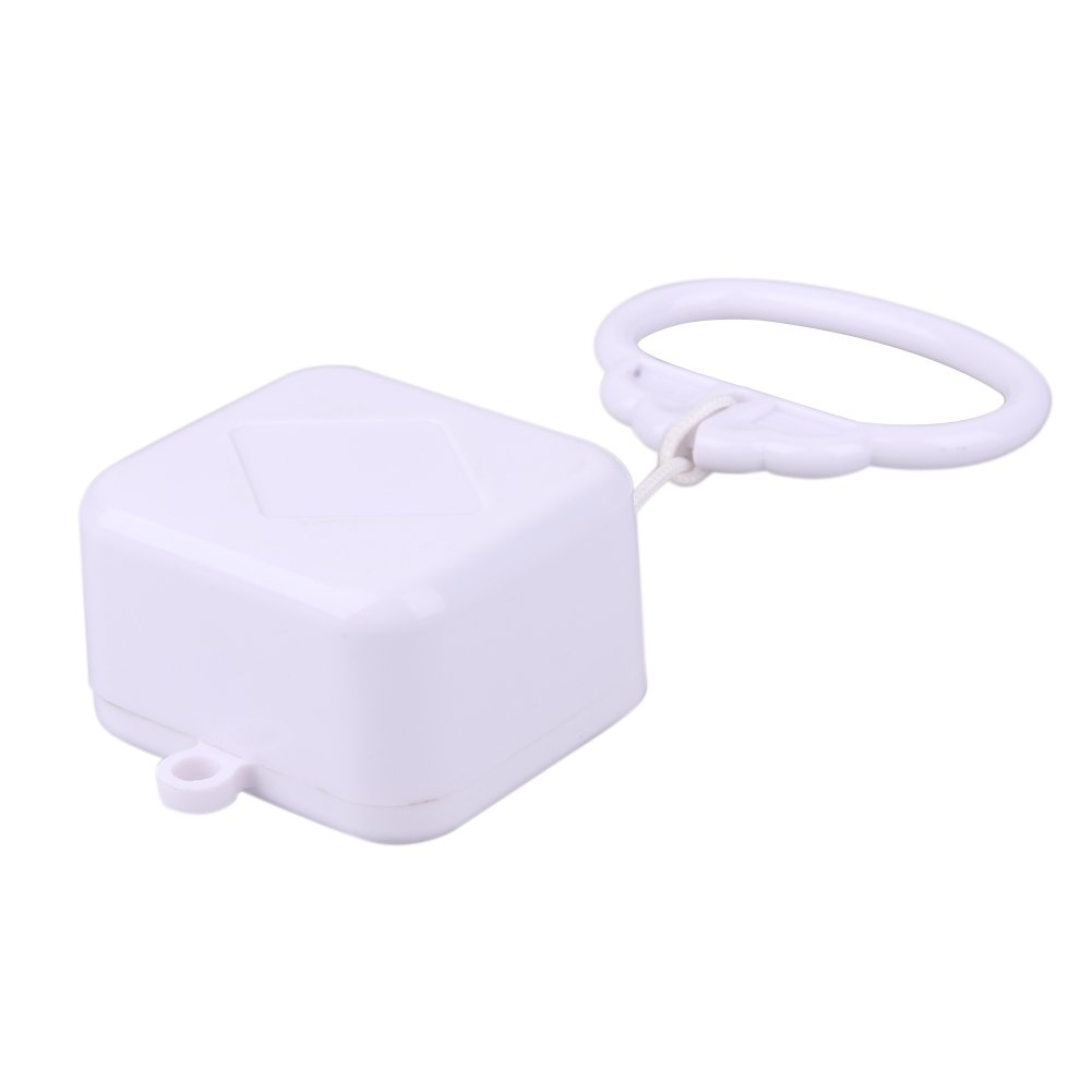 Caja de m/úsica para beb/é Cuerda de Regalo Color Blanco sonajero de Cama para ni/ños Taoytou Juguete de Juguete
