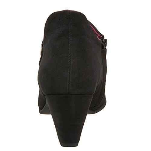 Arche Morgal Leather Ankle Boot Noir/Poison D2J4FV2