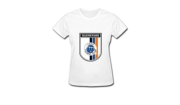 Las mujeres de Querétaro FC mexicana México fútbol Futbal Latino de fútbol camiseta de manga corta: Amazon.es: Ropa y accesorios