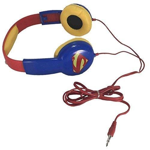Price comparison product image Kids Toddlers Superman Kid Safe Headphones Earphones