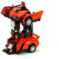 Vardem- Trans Warrior Metal Çek Bırak Robota Dönüşen Araba