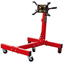 Torin Big Red Steel Rotating Engine Stand with Foldable Frame: 3/4 Ton (1,500 lb) Capacity