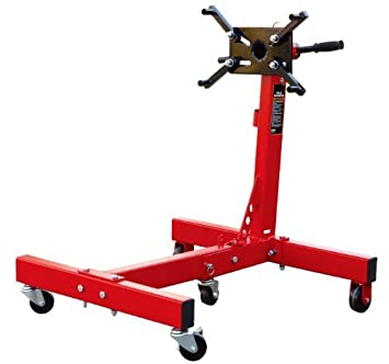 Torin Big Red T26801 Engine Stand, 3/4 Ton (1500 lb) Capacity