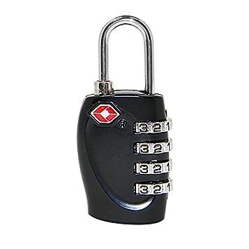 Ferrell Seguridad 4 combinación Contraseña Código Cerradura Candado para Maleta de Viaje Equipaje: Amazon.es: Hogar