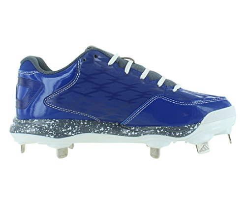 Baskets De Softball Adidas Poweralley 2 W Royal / Gris / Blanc