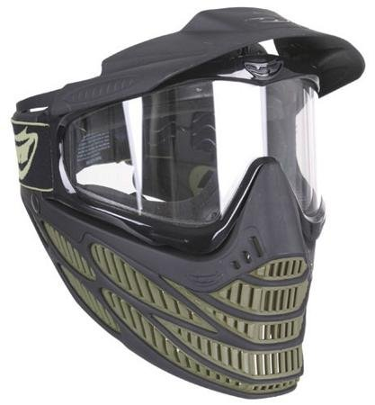 Paintball Olive Mask (JT Spectra Flex 8 Thermal Paintball Mask (Olive))