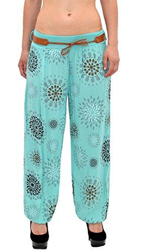 Pump S12 S18 mint Yoga Sarouel pour pour Pantalons Pantalon Femme de Dames Femme Pantalon Pantalon Harem wxRqg6OH
