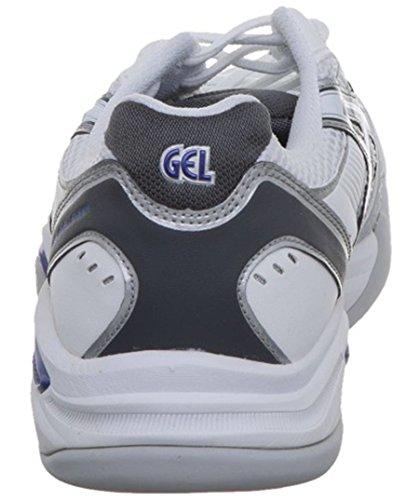 Zapatilla Asics 9 Challenger para Gris Gel 5 Zapatillas Pista Blanco Tenis Mujeres De 43 Indoor Cubierta HqH1w8RU
