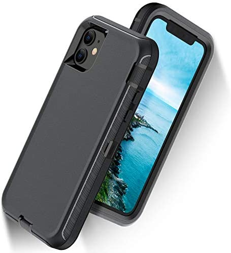 ORIbox Case Compatible with iPhone 11 Case, Heavy Duty Shockproof Anti-Fall case