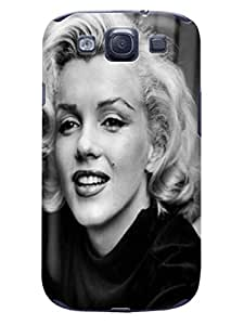 Pretty figure design tpu skin case cover for Samsung Galaxy s3(Marilyn Monroe) by Shari Flanders to make your phone unique