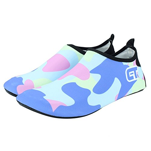 Kids C Water Beach Quick lightblue Sport Water Pool Lightweight Shoes SENFI Women Dry Men Camp 1A47w7x