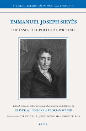 Emmanuel Joseph Sieyès: The Essential Political Writings (Studies in the History of Political Thought)