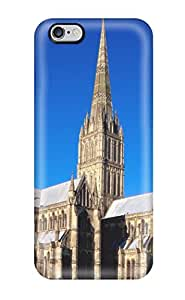 New Premium UJVdwnR10419SGgJi Case Cover For Iphone 6 Plus/ Salisbury Cathedral England Protective Case Cover